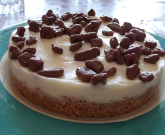 Madhouse recipe : Daim no-bake cheesecake
