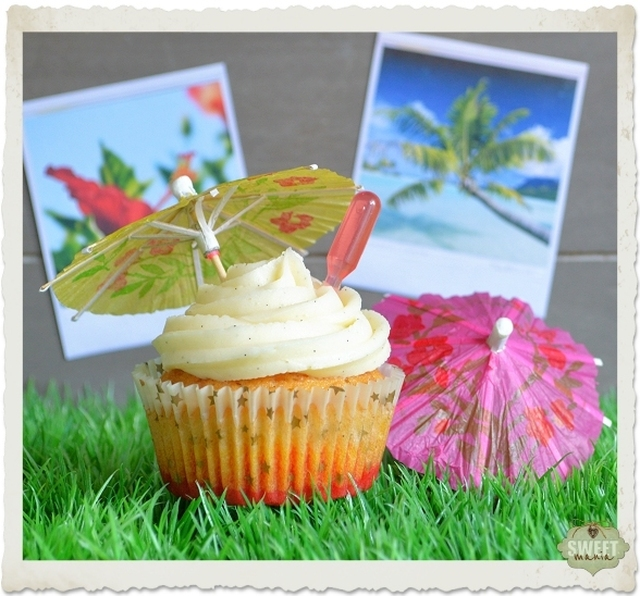 Cupcakes tropicales
