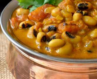 Curried Vegetarian Black-Eyed Peas Recipe
