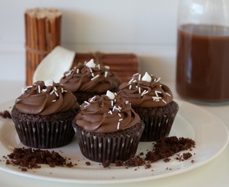 Los Cupcakes de Chocolate Definitivos