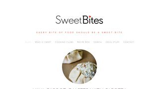 Sweetbites Blog