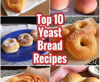 TOP  10  YEAST BREAD RECIPES