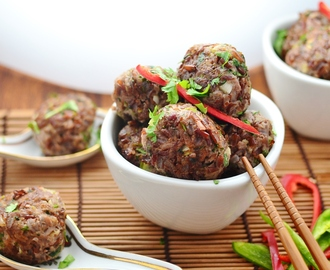 Red Rice Turkey Meatballs
