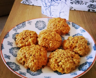 Things I have been cooking lately #126: Healthy carrot cake oatmeal cookies