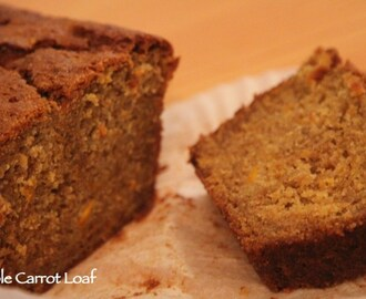 Apple Carrot Loaf