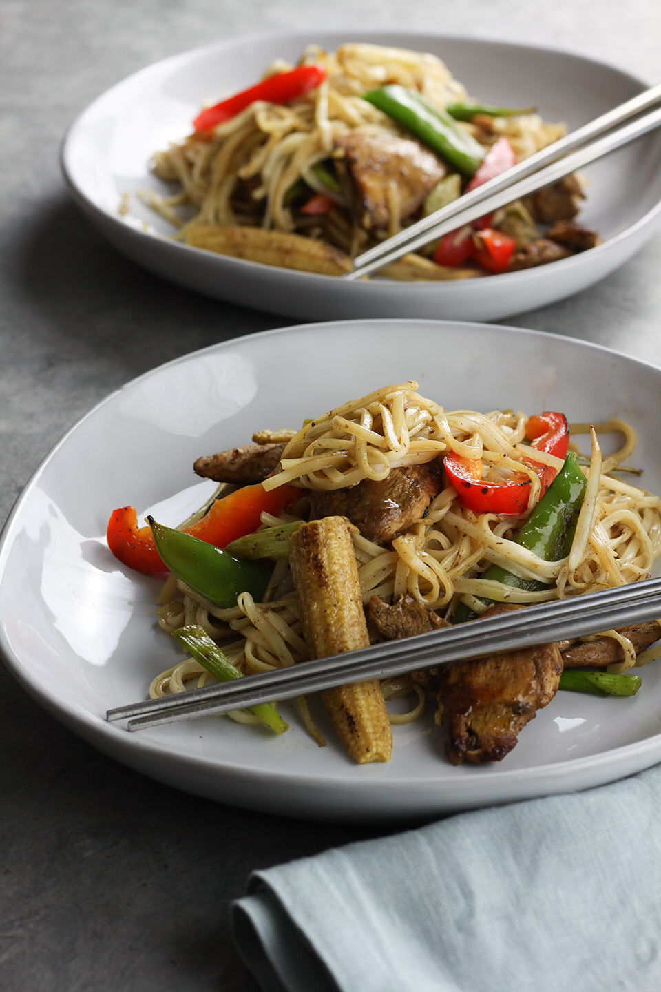 Easy Chicken Noodle Stir Fry
