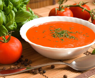 Easy 3 Step Tomato Soup Recipe