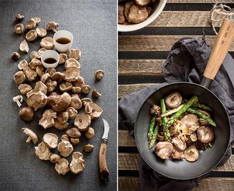 Recetas de setas shiitake plancha mytaste for Cocinar wok en casa