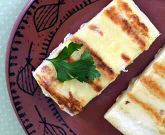 Two-Step Vegan Halloumi Cheese – Fat Free