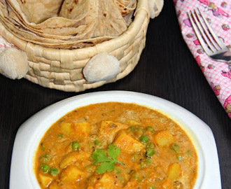 Aloo Matar/ Potato and Peas Masala