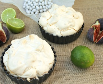 Mini Cherry Lime Meringue Pies