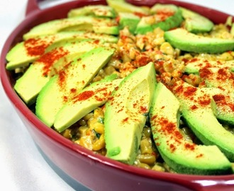 Mexican Corn with Creamy Avocado - 52 Church PotLuck Side Dishes
