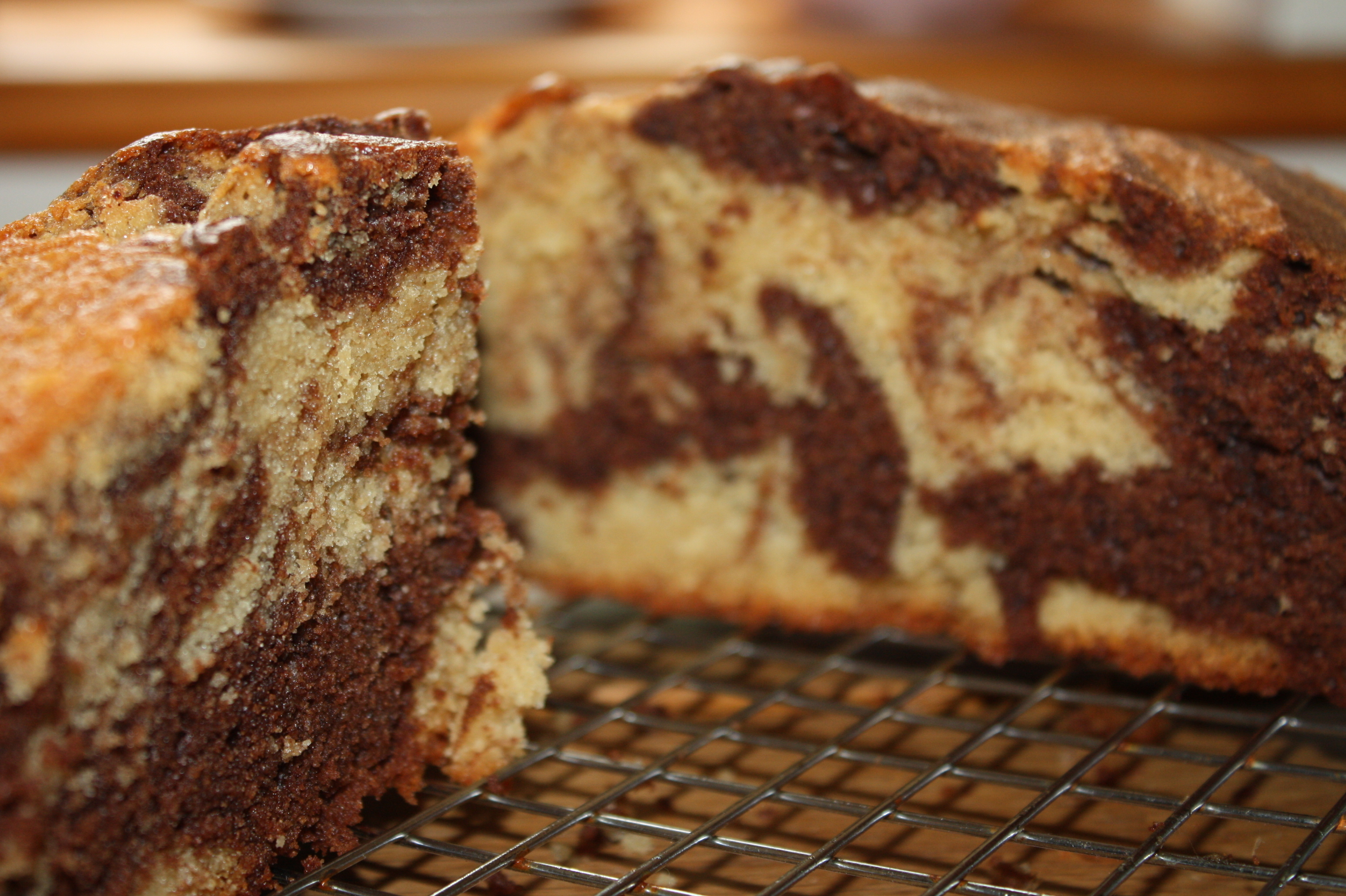 Recipe: Chocolate Marble Cake