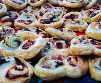 Low Syn Puff Pastry Pesto Swirls | Slimming World