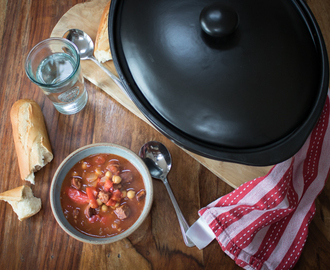 Slow Cooker Chorizo Soup