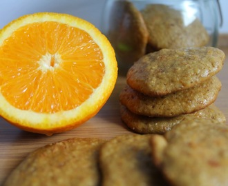 Galletas integrales de naranja