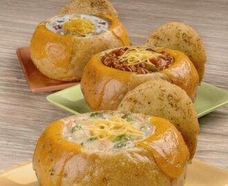 Dominos Bread Bowl Pastas