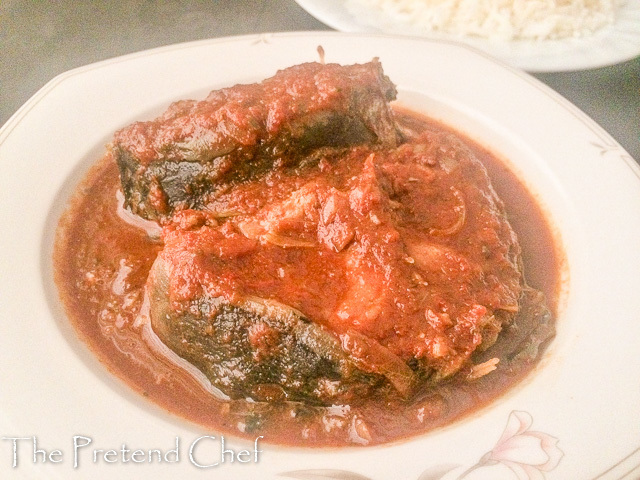 Fresh, light and healthy Nigerian boiled tomato stew