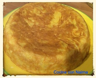 Tortilla de patatas en Olla GM E -Light