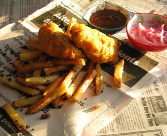 An Act of Cod: Indian-Spiced Fish & Chips