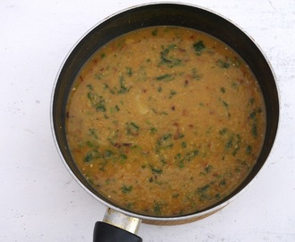 Masoor Daal / Red Lentil Curry.