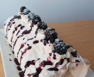 Blackberry & Hazelnut Roulade: GBBO Week #7