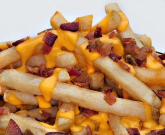 Receta: Patatas fritas con bacon (Bacon Cheese Fries)