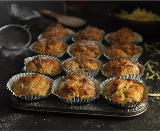 Pear & Mature Cheese Muffins