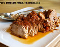Spicy Tomato Pork Tenderloin and the Slow Cooked Challenge is back!