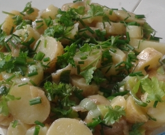 Ranskalainen perunasalaatti – French potato salad