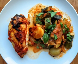 One Pot Roast Italian Chicken