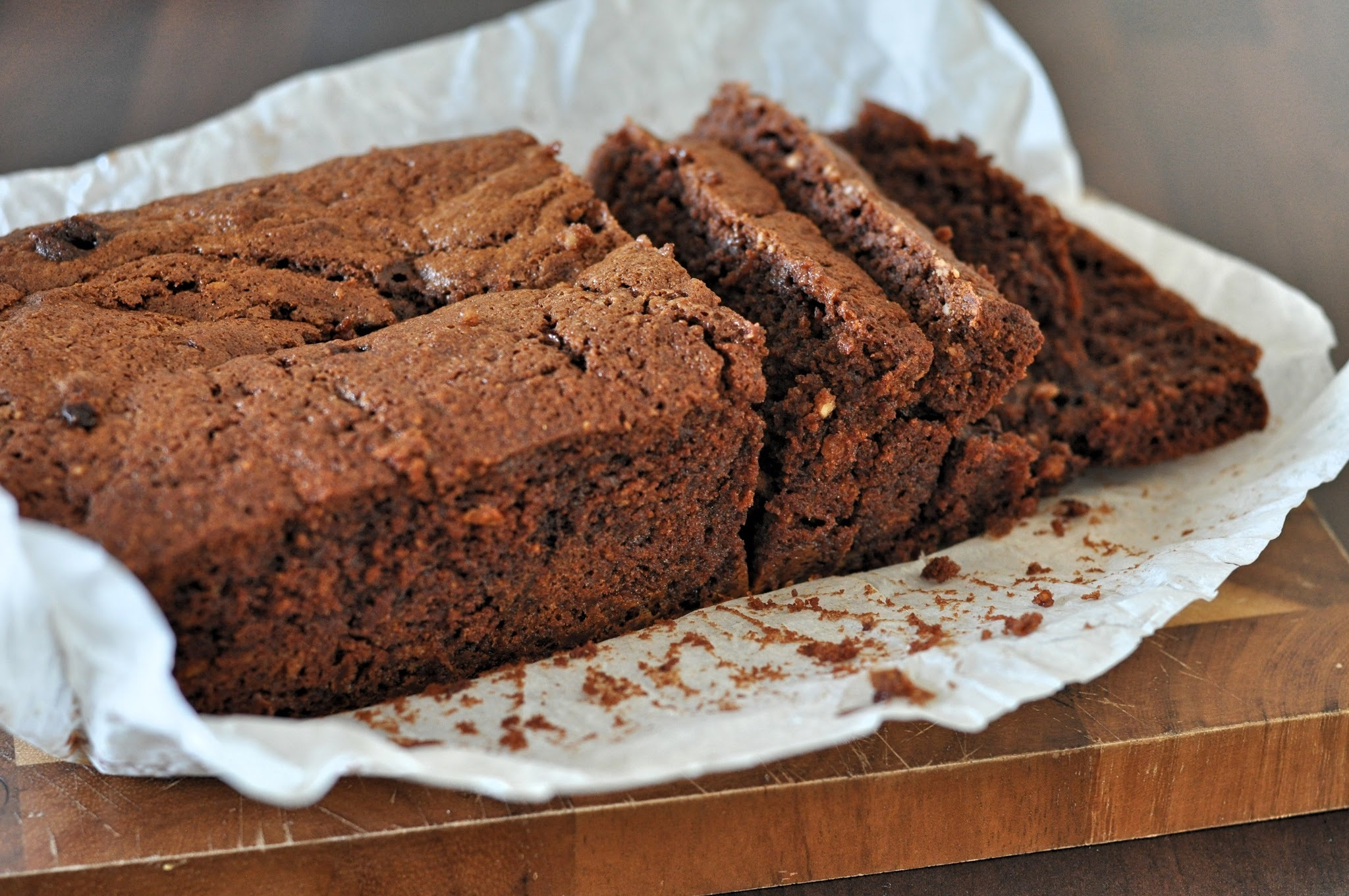 Recipe: Lindor Orange Truffle Triple Chocolate Loaf