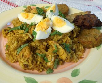 "Quick Chicken Biryani - an ""after the style of"" recipe"