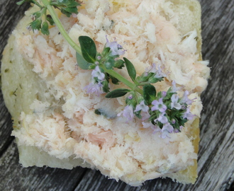 summery smoked fish terrine