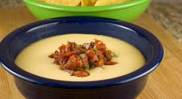 Fire Roasted Queso Dip