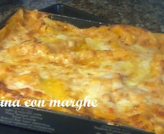 lasagne con radicchio light