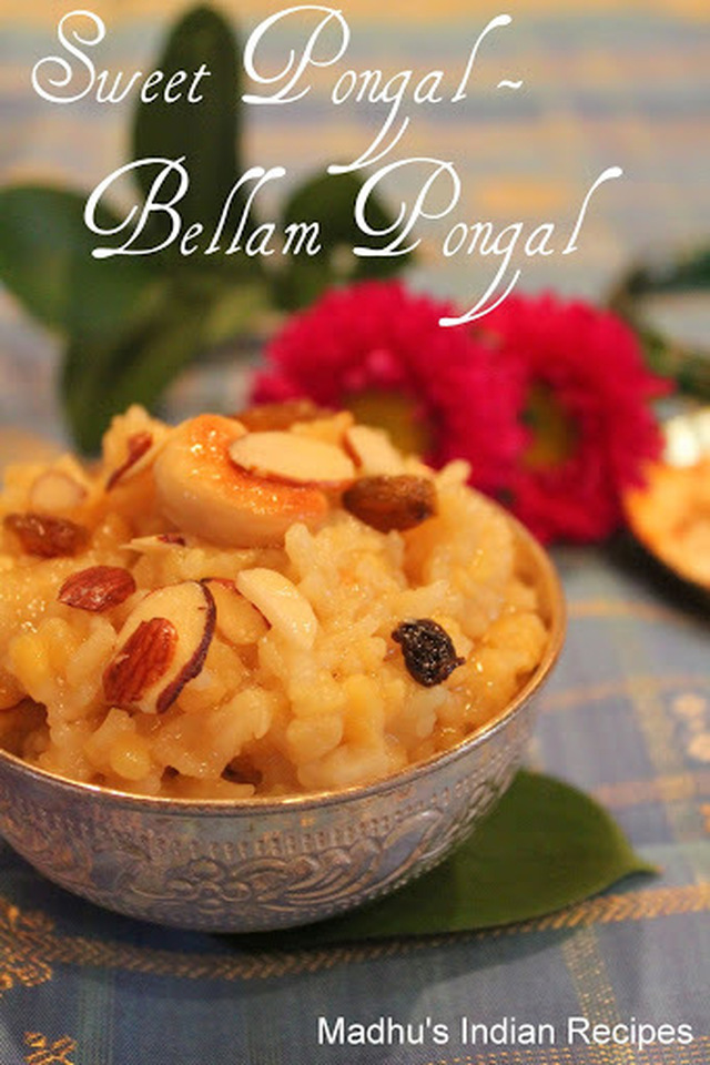 Sweet Pongal | Sakkara Pongal | Indian Sweets | Indian Festival Recipes