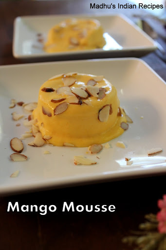 Mango Mousse ( No Gelatin, No Agar agar) | Eggless Mango Mousse | Easy Mango Mousse recipe under 15 minutes