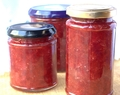 Strawberry and Vanilla Jam
