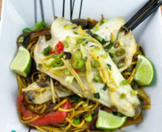 Syn Free Ginger, Garlic and Chilli Seabass | Slimming World