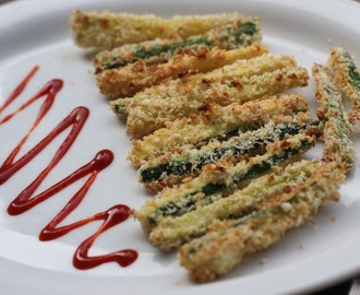 Zucchini - Courgette Skinny Fries - Chips