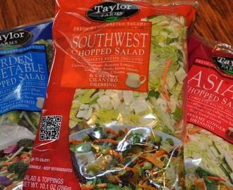 Summer Salad Supper  {A Review/Giveaway with Taylor Farms}