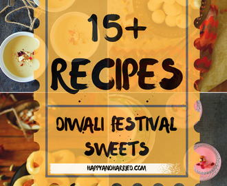 Diwali Sweets Roundup (15+ Recipes)