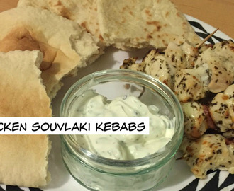 Mini Chicken Souvlaki Kebabs….