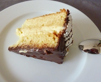 BOSTON CREAM PIE (TRADICIONAL O THERMOMIX)