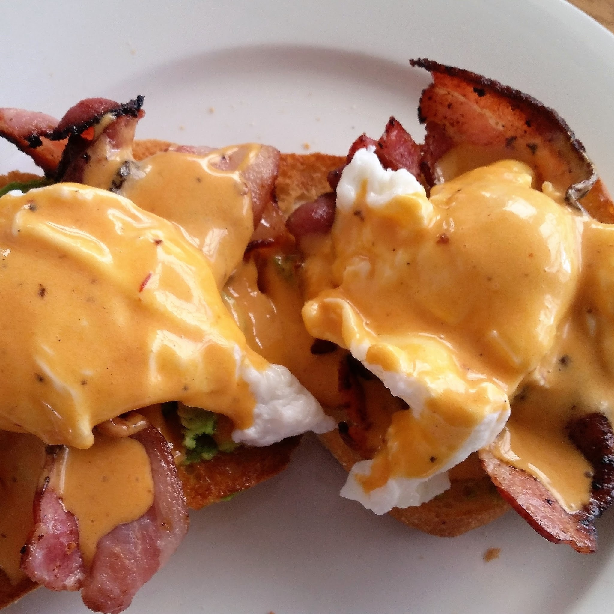 Chipotle Hollandaise Eggs Benedict