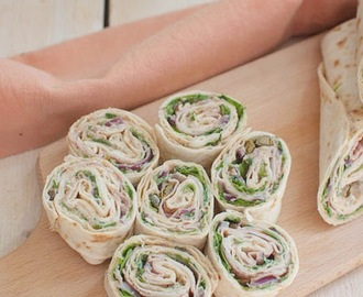Recept: Wraps met vitello tonato
