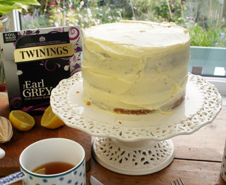 earl grey triple layer cake