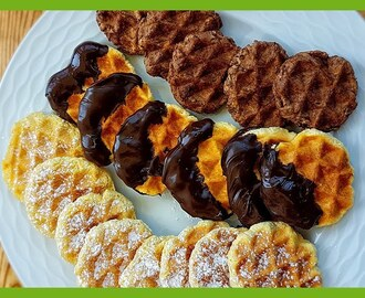 Easy Waffle Cookies Recipe