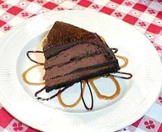 Chocolate Zucotta Cake